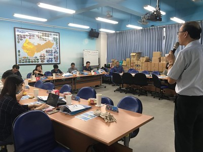 April 25– Itinerant consultation service at the Marine Education Resource Center of Taichung City