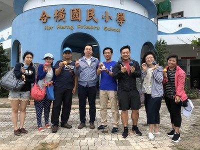 May 2-Itinerant consultation service at the Marine Education Resource Center of Penghu County